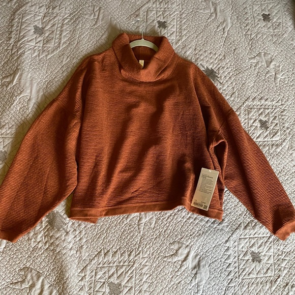 lululemon Peaceful Moments Pullover